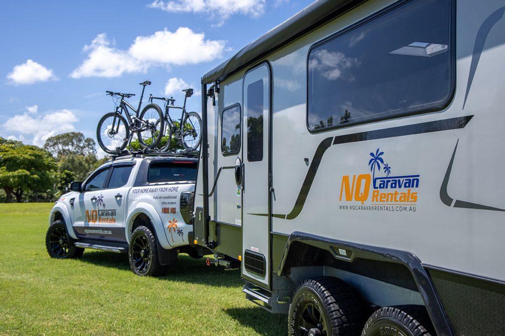 NQ Caravan Rentals KAI Ute V3