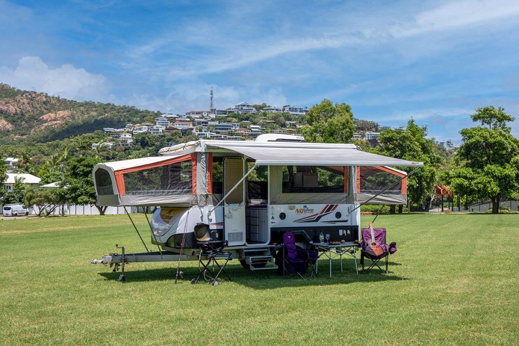 NQ Caravan Rentals Lily View 1